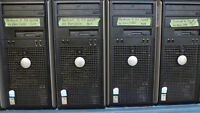 Bulk Sale - 3 x Dell Dual Core Towers