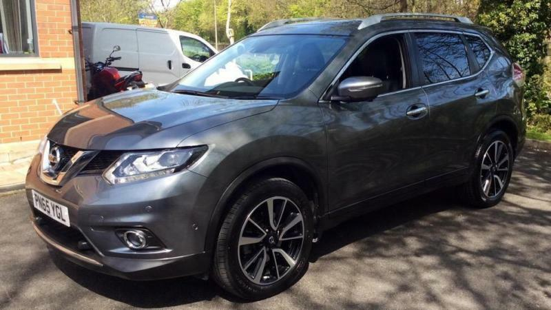 2017 nissan x trail tekna 4x4 diesel in chorley lancashire gumtree. Black Bedroom Furniture Sets. Home Design Ideas