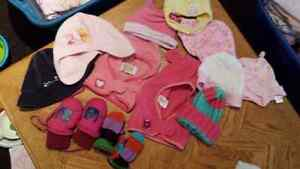Assorted hats and mitts