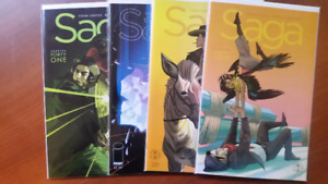 SAGA #41-47 NM/NM+ BRIAN K. VAUGHAN FIONA STAPLES
