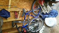 selling 2 mountain bikes