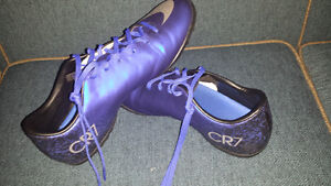 Soccer shoes turf MERCURIAL victory CR BLUE 50$(NEGOTIABLE)