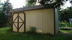 Garden Shed For Sale and deck with gazebo