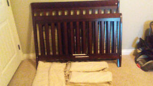 3 in 1 crib for sale $100