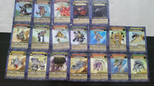 Digimon Cards and Toys