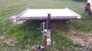 Double wide Seedo-Skido-Argos trailer- tilt and load. Only $650