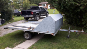 2 place sled trailer $750