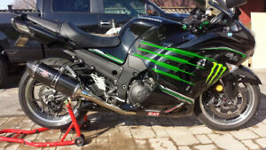 2013 ZX 14R SE - Tons of extras.