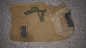Vintage - Army/Infantry Duffle Type Canvas Bag
