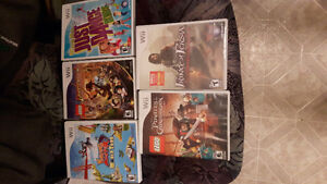 Used WiI games
