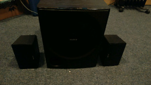 Sony 2.1 stereo system ( needs receiver)