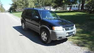 2001 Ford Escape XLT  4X4 SUV, Crossover