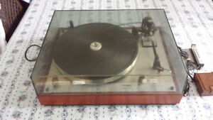 THORENS TD166 MKII BELT DRIVE TURNTABLE
