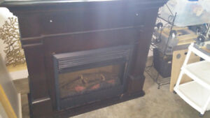 Electric fireplace. REDUCED PRICE.
