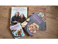4 X curry Indian cook books
