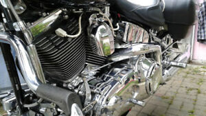 HD Softail Deluxe  ,,Chromed ,, Mint Condition