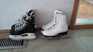2 pair of skates Prince George British Columbia image 1