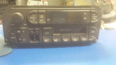 Audio Equipment Radio 2-7 Pin Connectors On Radio Fits 98-02 CONCORDE 70134