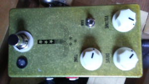 Guitar pedals for fitness equipment