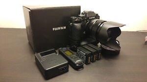 FUJI X-T1 PACKAGE - 23mm f1.4 - MINT