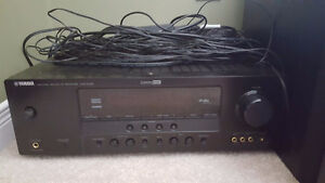 YAMAHA  HTR-6130 Receiver with 6 speakers
