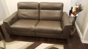 Two Leather couches for sale