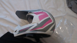 Kids dirtbike helmet