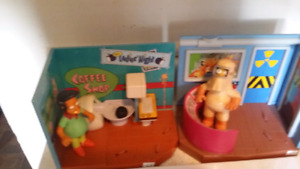 Simpsons figures/ playsets