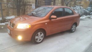2007 Pontiac Wave Se Sedan Certified Etested only 126000km