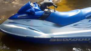 2001 Seadoo RXDI with trailer