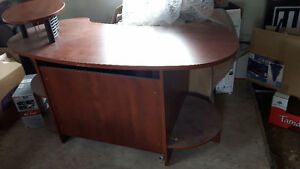 Computer desk in good condition-make an offer