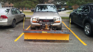 2003 GMC Sonoma with Plow