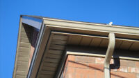 EAVESTROUGH, SOFFIT, FACISA! FREE QUOTE SAME DAY!