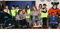 Concert de Noël pour enfants autistes et handicapés.