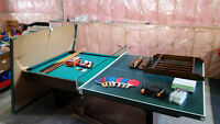 Pool Table/Ping Pong and all accessories