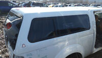 2011 Nissan Frontier Canopy White