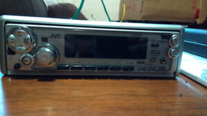 JVC car audio mp3/cd/aux deck