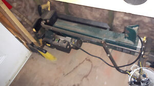 Electric wood splitter for sale