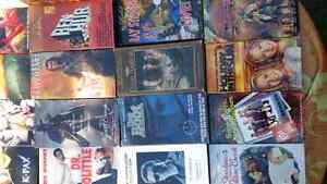 48 vhs movies assorted titles Peterborough Peterborough Area image 1