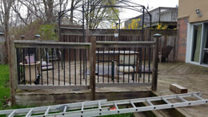 Free Deck- great for cottage or to be reused