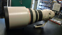 Canon EF 400mm f/2.8L IS USM Lens with Case