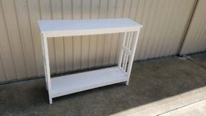 Hall Table White