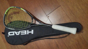 Almost new - Head Spark Pro AFT Squash Racquet