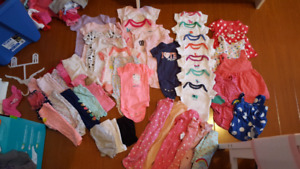 Baby Girl Clothing (3-6 months)