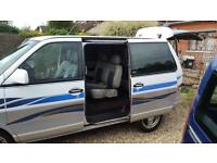 NISSAN hiway star 1995 7 seater day van camper diesel automatic