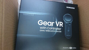 Samsung Gear VR with controller (2017 model). Brand new.