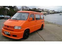 VW T4 Camper, Campervan. Reduced to £7995. 2 previous owners, elevating roof, HPI clear, low miles
