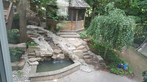 New Pond Install / New Water Feature Install London Ontario image 6