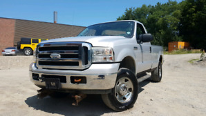 2005 Ford F-250 4x4 plow truck (as is)