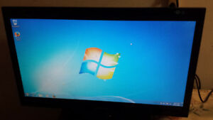 "Used 23"" Samsung Wide Screen LCD Computer Monitor for Sale"